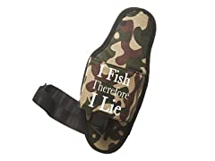 """I Fish Therefore I Lie"" Beer Holster"