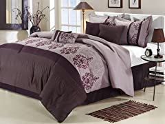 Renaissance 8Pc Set-Plum-2 Sizes