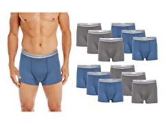Gildan Men's 12-Pack Trunk Brief