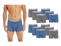 Gildan Men's Trunk Brief 12-Pack