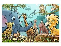 Jungle Cartoon Animals
