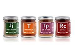 Spiceology International Spices, 4 Pack