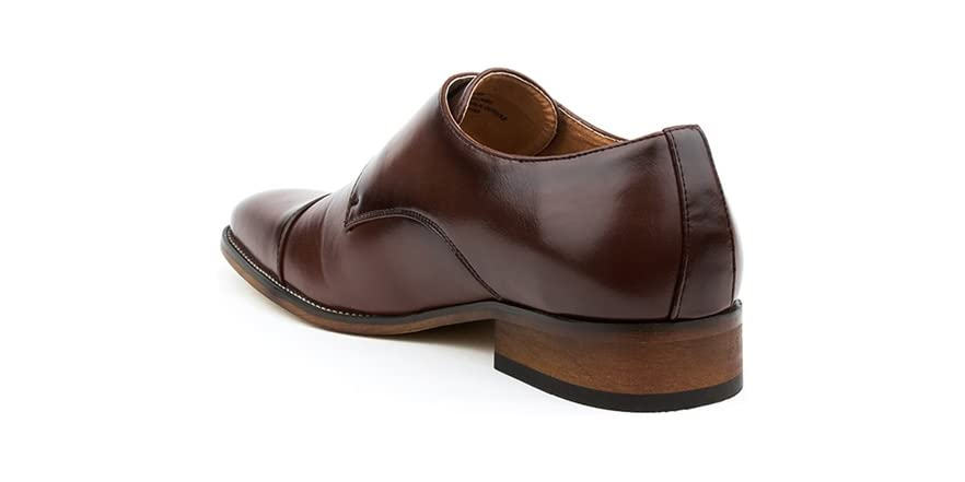 Gino Vitale Men S Monk Strap Shoes