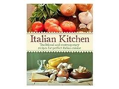 Italian Kitchen Hardcover Cookbook