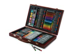 110-Piece Art Set in Wooden Case