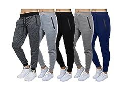 3PK Womens ASST Relax Fit Jogger Pants