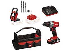 Einhell 18V Li-Ion Drill/Driver Workshop Kit