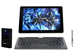 "NuVision 10"" Detachable Tablet w/Power Bank"