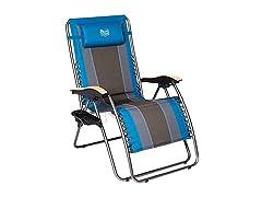 Timber Ridge Zero Gravity Recliner Chair w/ Cup Holder