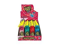 Juicy Drop Pop Sweet Lollipops Candy, 24 Pack