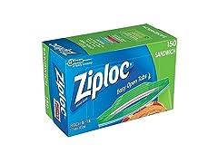 150-Count Ziploc Sandwich Bags