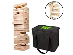 Giant Stacking Tower Drinking Game