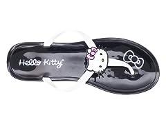 Hello Kitty Women's Gel Flip Flops, Black