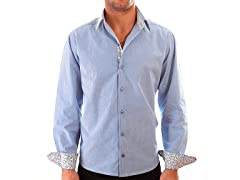 Lucky Luciano Wall Street Slim Fit Casual Shirt