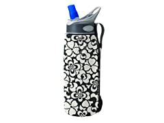 .75L Insulated Bottle Sleeve-Black/White