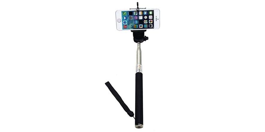 swisstek universal selfie stick w remote. Black Bedroom Furniture Sets. Home Design Ideas