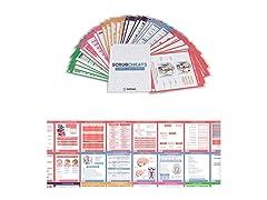 Scrubcheats 56 Laminated Nursing Cards