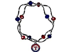 MLB Stretch Bead Bracelet