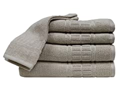 Zero-Twist Quick Dry 6Pc Set-Beige