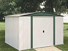 6' x 5' Metal Storage Shed Kit