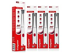 Colgate 360 Electric Toothbrush, 4 Pack