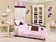 Pam's Petals 3-Piece Twin Bedding Set