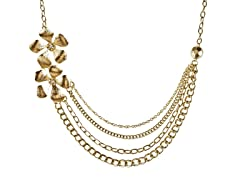 Relic Multiple Strand Necklace, Gold