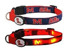 University of Mississippi LED Collar - L