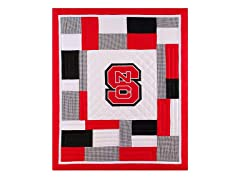 North Carolina State Quilted Throw