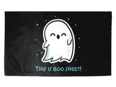 Boo Sheet 3' x 2' Rug