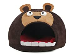 Pet Life Roar Snuggle Plush Dog Bed