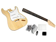 Unfinished Strat Electric Guitar Kit