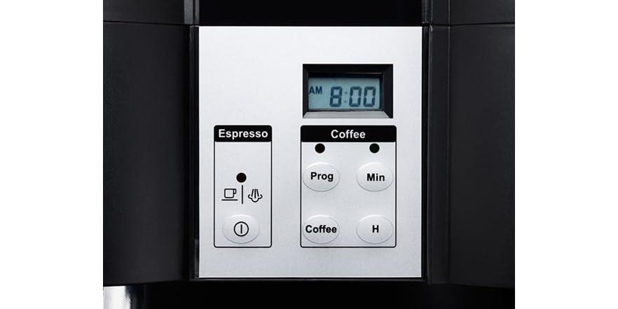 espresso combo machine