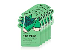 I'm Real Aloe Mask Sheet -  5 Pack