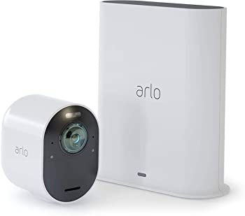 Arlo Ultra 4K UHD Wire-Free Security System With Camera