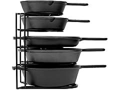 "Cuisinel 5-Tier 12.2"" Pan Rack Organizer"