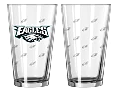 Eagles Pint Glass 2-Pack