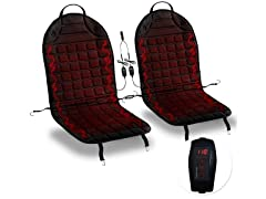 Heating Cushion with Integrated Plug, 2pk