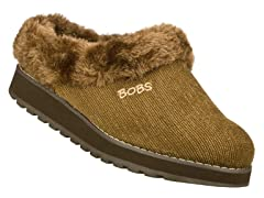 Skechers Women's Bobs Snuggle Bug, Brown