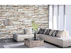 Travertine Wall Mural