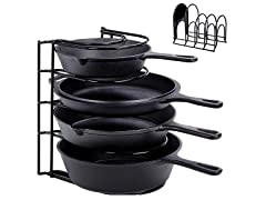 Heavy Duty Pan Organizer, 5 Tier Rack