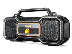 Sondpex Waterproof Magnetic Bluetooth Boombox Speaker