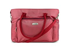 "Professional Ladies Laptop Tote for 15.4"" Laptops, Red"