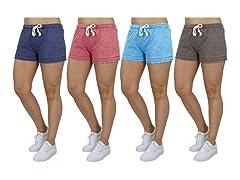 3 Pack Asst Classic Lounge Shorts