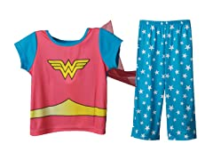 Wonderwoman 2-Piece Set w/Cape (2T-4T)