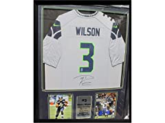 Autographed Jersey Frame - R. Wilson