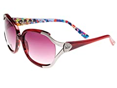 """The Beatles"" Semi-Rimless Sunglasses"