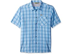 Solstice Apparel Men's Short Sleeve Plaid Shirt