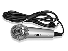 Silver Vocal Condenser Computer Microphone