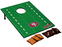 San Francisco 49ers Tailgate Toss Game